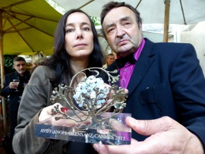 "PASCALE LAFAY, WINNER IN CANNES OF THE ""ANGEL ORENSANZ AWARD AVIFF 2012"""